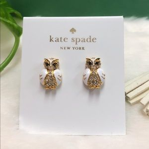 NWT KATE SPADE ♠️ STAR BRIGHT OWL EARRINGS